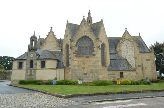 Le Faou, Frankrike: la chiesa