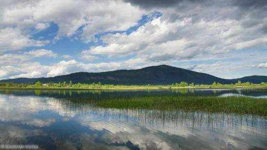 Cerknica lake, the largest periodic lake in Europe