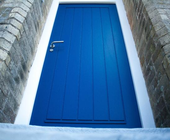 The Blue Door Picture Of The Blue Door Newquay
