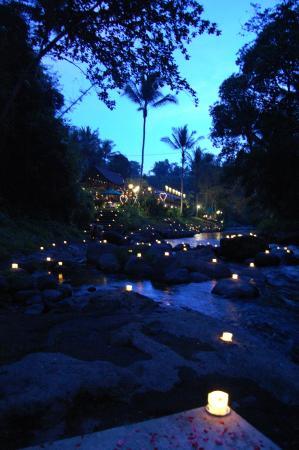 The Samaya Bali Ubud: 100 candles dinner