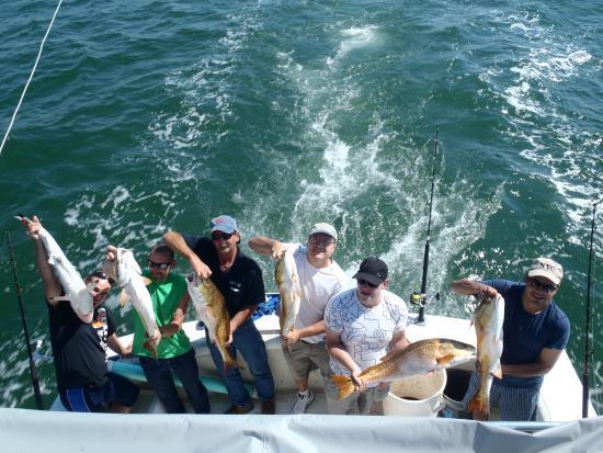 Biloxi city cemeary tours the biloxi fishing trip for Fishing in biloxi ms