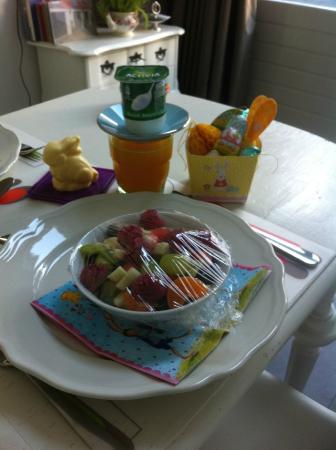 Bed & Breakfast Diemerbrug: Paas ontbijt
