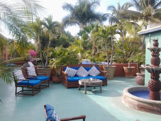 Todos Santos, México: una delle terrazze relax