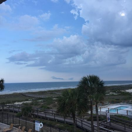 The Pelicans on Amelia Island: Beautiful view from our third floor balcony.