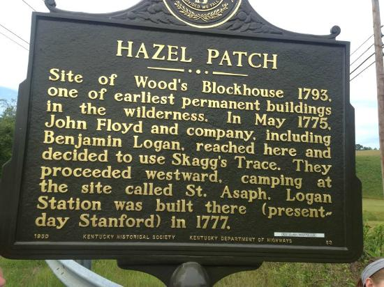 The Hazel Patch Marker