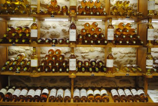 Sauternes, France: La boutique