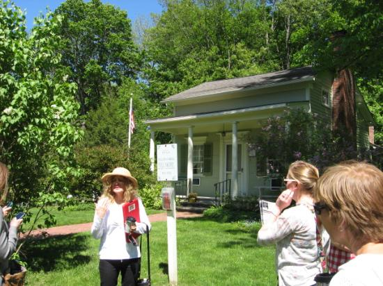 Buffalo Bites Food Tours: One of the historic areas in East Aurora that we visited - Millard Fillmore's house