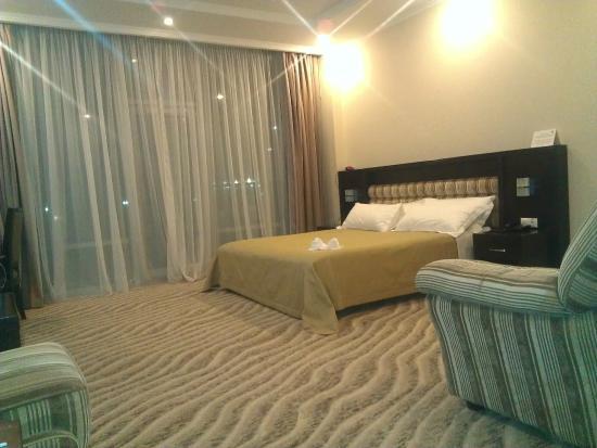 Aquamarine Apartments & Hotel : В номере