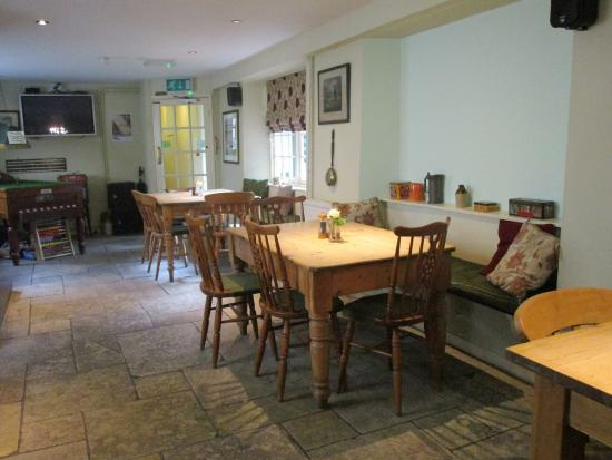 The Royal Oak: Dining room for inn guests