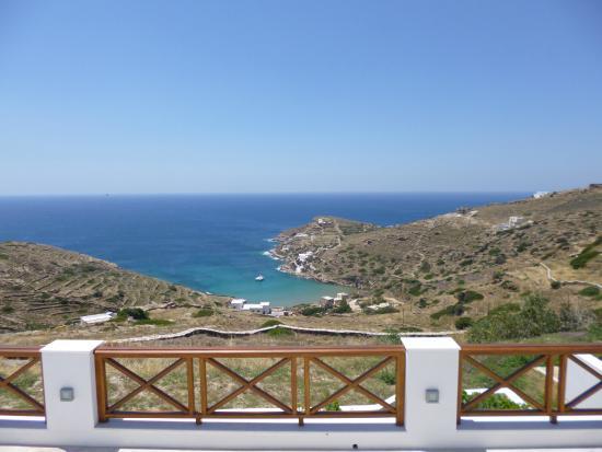 Kolitsani View: Vista dalla camera