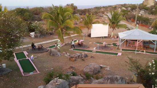 Mine Shaft Cafe : New addition. ...and updated golf course