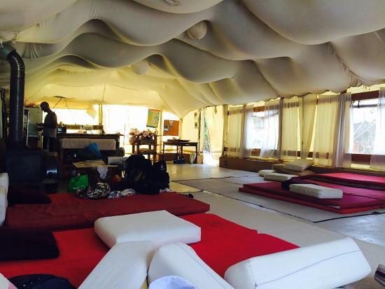 Galilee Bedouin C&lodge Inside the big tent & Inside the big tent - Picture of Galilee Bedouin Camplodge Hilf ...