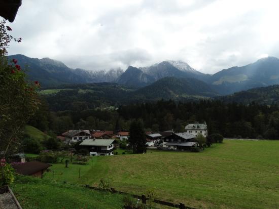 Tourist Hotel Boehm: View of Bavarian alps