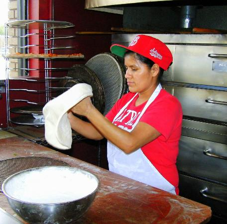 Solorzano Bros. (Webber St.): Making Pizza