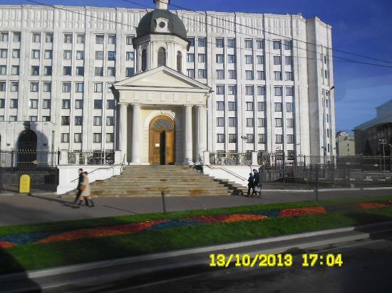 Храм-часовня Святых Благоверных Мучеников Бориса и Глеба на Арбатской площади