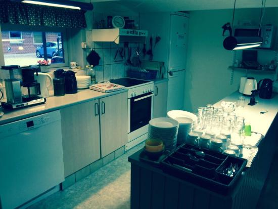 Vandel, Dänemark: The kitchen