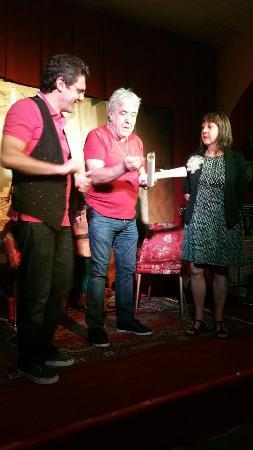 La Corte dei Miracoli Cabaret : Renato Converso, Marisa Rampin, Antonio Cota, Tina Fasano, .... divertimento garantito!