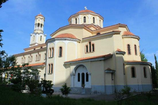 Fier, Albanien: The Orthodox Cathedral of St.George