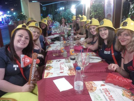 Restaurante Venezia Da Luigi: Hen Party!