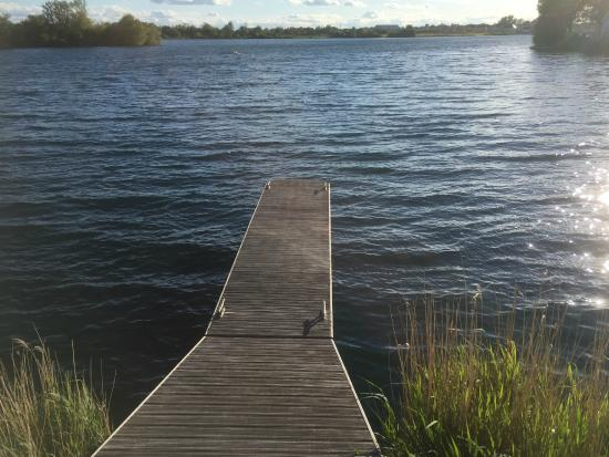 Watermark Lakeside Homes & Holidays Ltd: A private jetty
