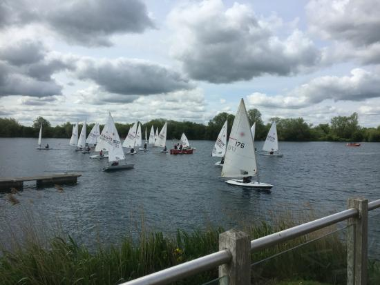 Watermark Lakeside Homes & Holidays Ltd: A riot of sails