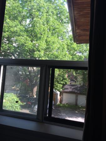 Ada's Guesthouse: View from our window