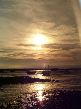 The Craigwell: sunset
