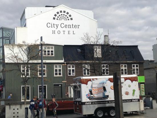City Center Hotel Vista Externa Do