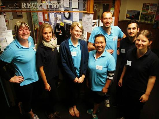 Harbourside City Backpackers : Staff 2014