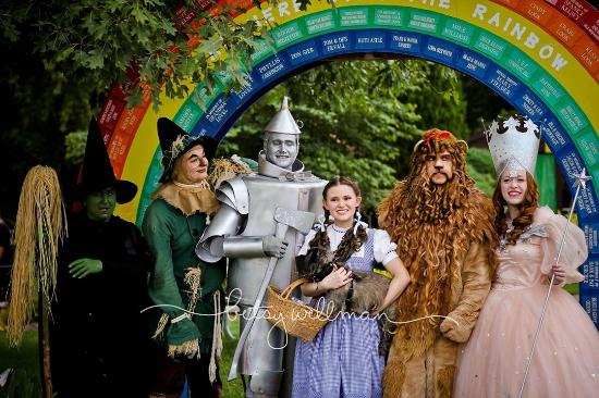 Mapleton, อิลลินอยส์: Wizard of Oz Festival August Butler Haynes Park