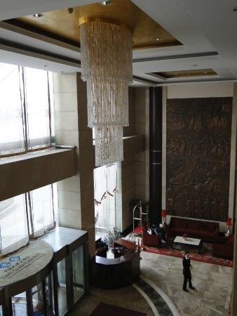 Tianyu Gloria Grand Hotel Xian: Saguão da recepção
