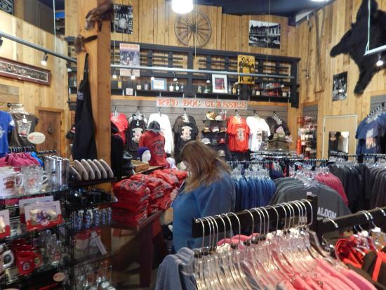 Red Dog Saloon Juneau Gift Shop