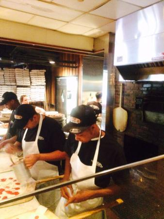 Grimaldi's Pizzeria: hand Tossed Pizza done fresh