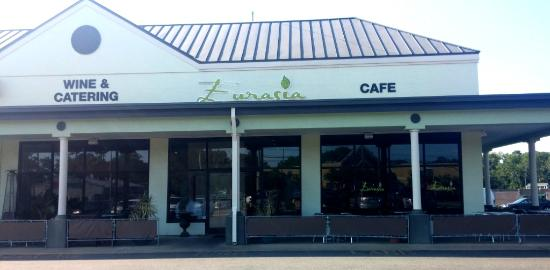 Eurasia Cafe Restaurant On Laskin Rd Just West Of Baltic