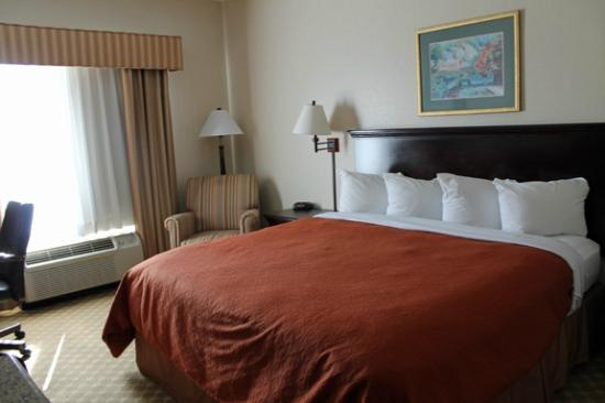 Country Inn & Suites by Radisson, Columbus, GA: King Deluxe