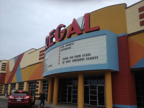 Regal Theater In Victor Entrance Picture Of Regal Eastview Mall