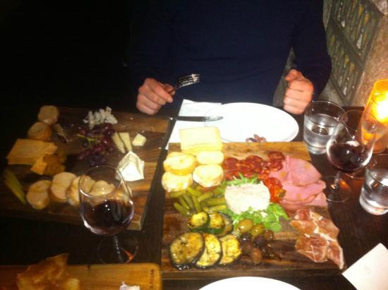 Gpo Cheese Wine Room Mixed Cheese Board