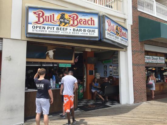 Bull On The Beach Restaurant Ocean City Maryland