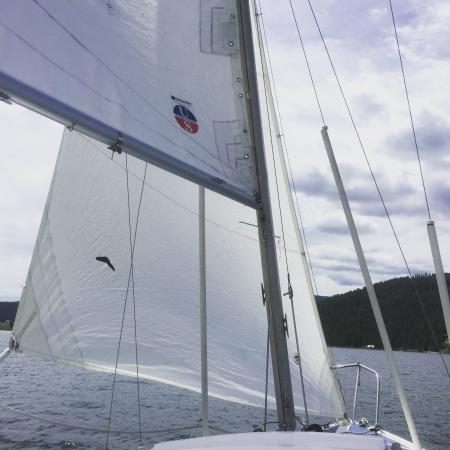 Kirkwood Resort & Marina: Sailing on Hebgen Lake