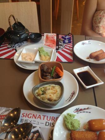 Обед в OISHI