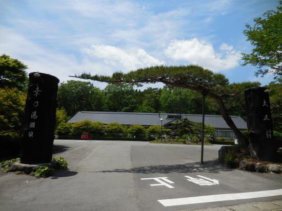 Okunasu Taishouura Satinoyu Onsen: 入口