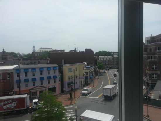 Harvard Square Hotel: view from 4th floor
