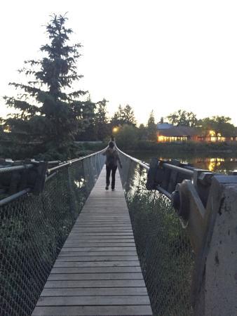 Wolseley Swinging Bridge
