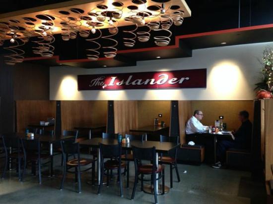 Islander Restaurant Bar Interior