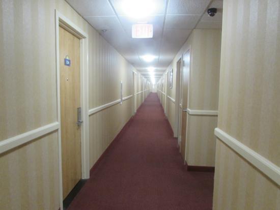 Days Inn by Wyndham Hilton Head: Interior corridors on 3rd floor