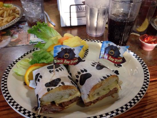 "Black Bear Diner: My ""Blazin' Bear"" sandwich - Black Bear Diner Modesto"