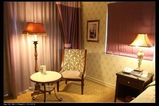 Hualien FarGlory Hotel: 房間內部