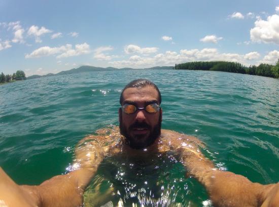 Kastro: In the lake