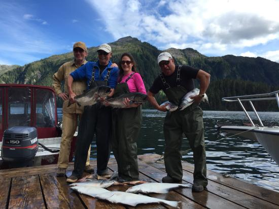 Baranof Wilderness Lodge : Another Day, another box of fish