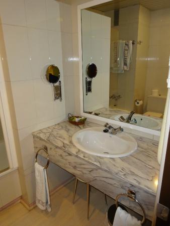 Hotel Santa Cecilia: Cuarto de baño